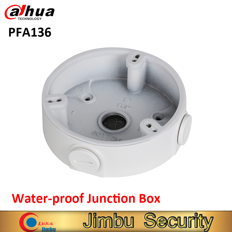 цена на DAHUA PFA136 Water-proof Junction Box IP Camera Brackets Camera Mounts PFA136