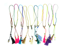 Summer Handmade Friendship Tassel Bracelet