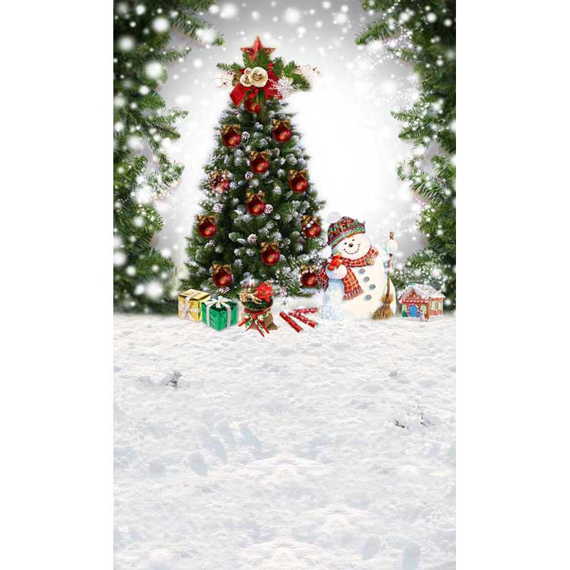 7X10ft  thin vinyl photography  backgrounds Computer Printed children Christmas  Photography backdrops for Photo studio ST-203