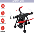 Профессиональные RC Летательный Аппарат С 1080 P HD Камера GPS 2.4 ГГц 4CH 2-axis Gimbal FPV Quadcopter Новый Пульт Дистанционного Управления Вертолетом дрон Игрушки