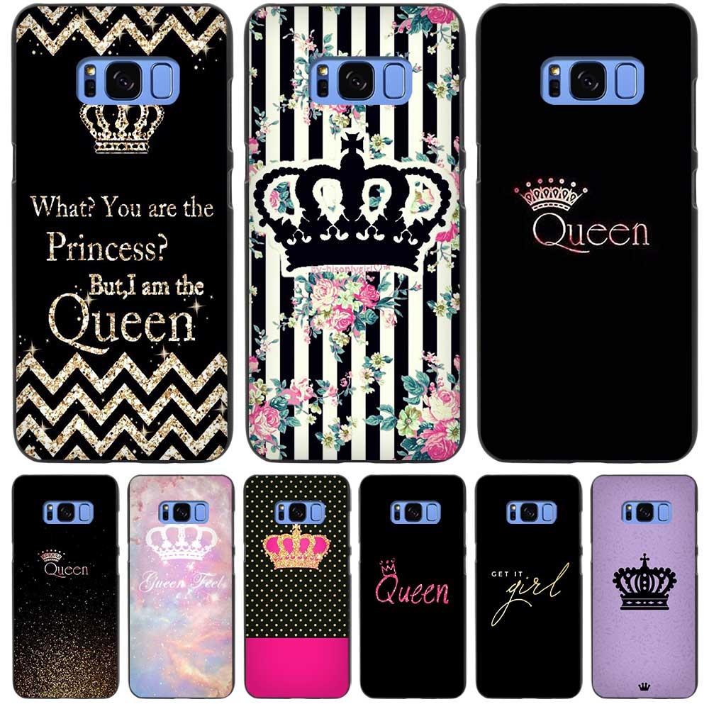 queen live quote Black Case Cover Shell Coque for Samsung Galaxy S3 S4 S5 Mini S6 S7 S8 Edge Plus S8+