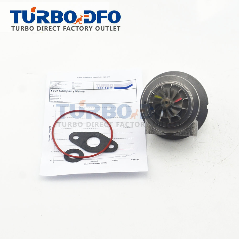 Turbocharger kit TD025S2 for Ford Fiesta VI Focus II Fusion 1.6 TDCI 90HP - Cartridge core CHRA turbo 49173-07516 / 49173-07522