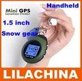 Promoção Hotsale 1.5 polegada Multifuncional GPS Portáteis de mão, Ao Ar Livre GPS Roupas para Neve, GPS Pessoal