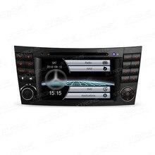 """7 """"двойной 2 Дин DVD Радио GPS Navi пригодный для Mercedes-Benz g-w463 cls-500 e-w211 e-280 авто видео плеер Canbus аудио стерео"""