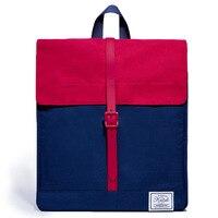 KALIDI Mini Laptop Backpack Fashion Women Backpack Postman Package School Bakcpack Message Bag For Mackbook 13