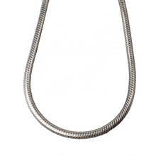 JustNeo solid 925 sterling silver snake chain necklace,Basic Chains