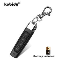Télécommande sans fil kebidu Module récepteur 433Mhz émetteur RF porte de clonage électrique porte de Garage porte Auto porte clés