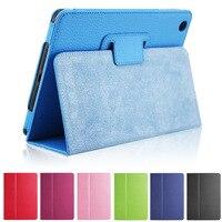 New For Apple Ipad 2 3 4 Magnetic Auto Wake Up Sleep Flip Litchi Leather Case