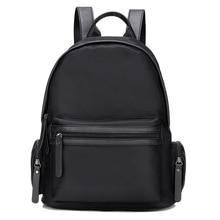 Рюкзаки Mochila деловая сумка женская Bagpack Черный Рюкзак Школьная Сумка Женщины Back Pack Водонепроницаемый Школьный рюкзак нейлоновая сумка