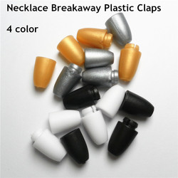 500 pairs  DIY Necklace's breakaway plastic clasps Plastic Closure for Silicone baby pacifier chewing Jewelry Necklace