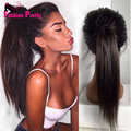 Silky Straight Lace Front Wig 150density Peruvian Virgin Human Hair Wigs For Black Women Glueless Full Lace Human Hair Wig