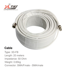 New Arrival !!Top Quality ,ATNJ 3D-FB  20m SMA/Female/SMA-Male Coaxial Cable