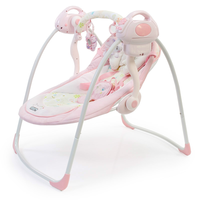 High quality European style luxury baby cradle electric rocking chair comfort sleep supplies swing 2017 new babyruler portable baby cradle newborn light music rocking chair kid game swing