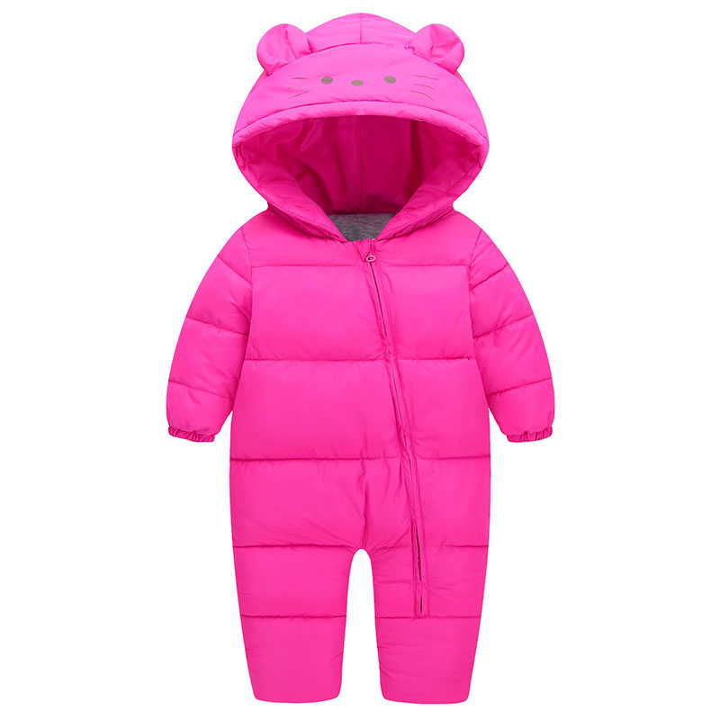 Baby Products Bebe Girl Bebe Boy Newborn Clothes Baby Costume Thick Warm Infant Baby Rompers Kids Winter clothes Jumpsuit Hooded newborn baby clothes winter baby boy clothes cotton romper jumpsuit gentleman costume baby rompers infant boy clothes 0 12m