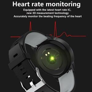 Image 5 - LIGE スポーツスマート心拍血圧モニター天気ディスプレイ歩数計リストバンドスマートウォッチ Android ios + ボックス