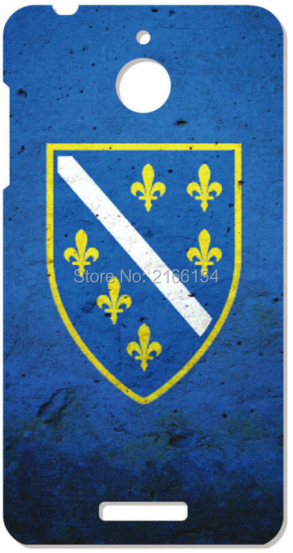 1 font b PC b font Bosnia Flag Cell phone Cover For HTC one X M7