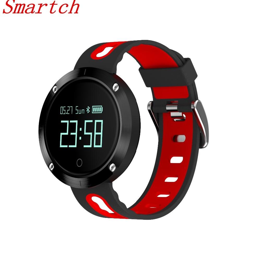 Smartch DM58 smartband Hjärtfrekvens Blodtrycksarmband Vattentät - Smart electronics
