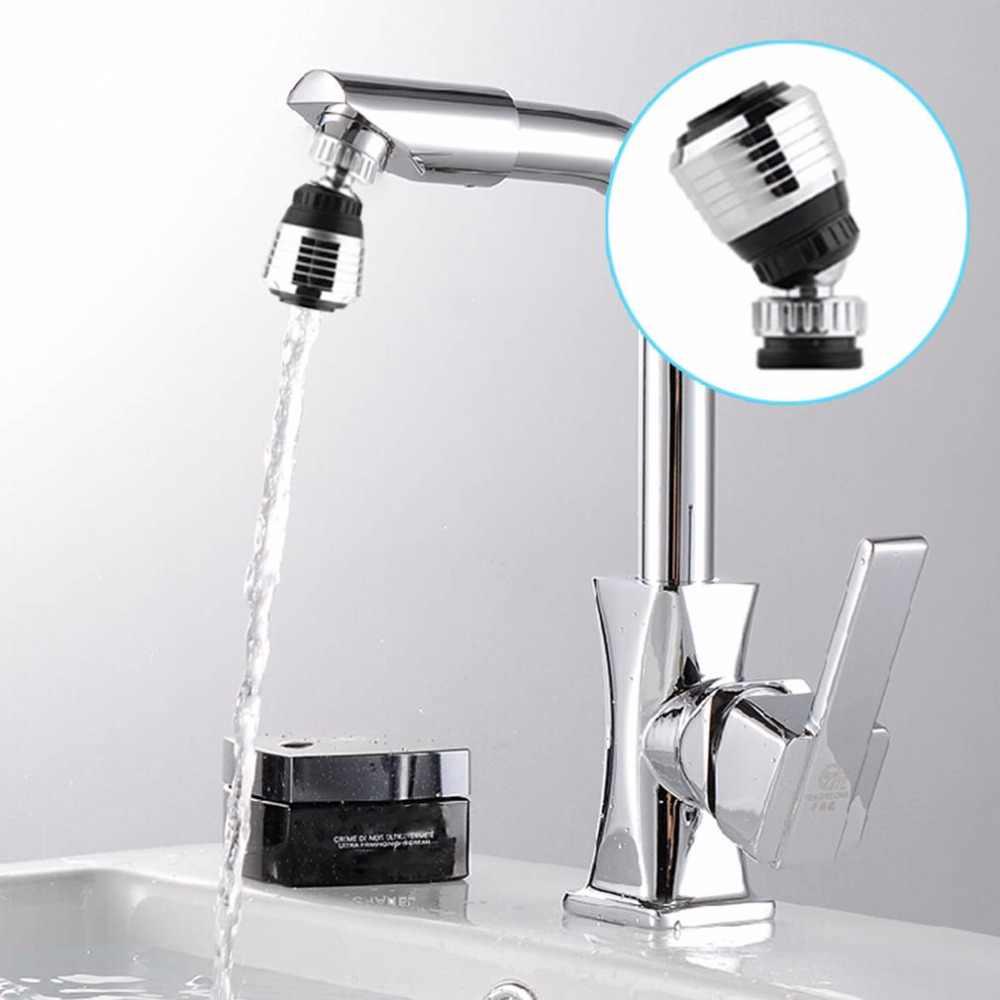 360 accesorios de cocina giratoria 360 grifo de filtro de agua boquilla giratoria de ahorro de agua aireador boquilla filtro para grifo agua Bubbler