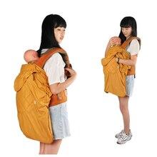 2016 hiver étanche ergonomique porte-bébé sling sac à dos sac couverture chaude manteau infantile toddler wrap multi-fonction swaddle