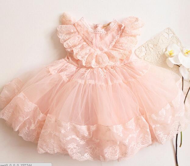Belababy Baby Girl Dress 2016 Summer Children Sleeveless Christmas Girls Denim Floral Dresses Kids Princess Bowknot Flower