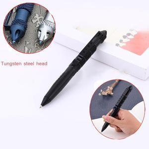 Image 4 - Wielofunkcyjny długopis taktyczny broń do samoobrony element do tłuczenia szkła ze stopu aluminium ze stopu aluminium narzędzie edc zestaw survivalowy na świeżym powietrzu zestaw ratunkowy