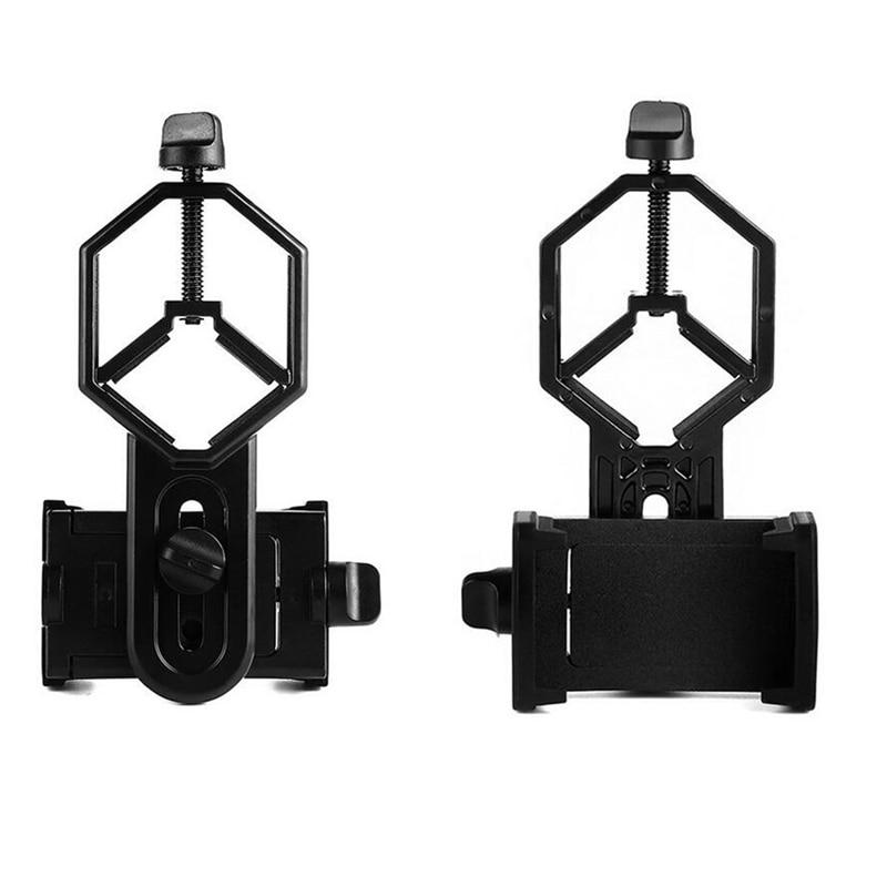 imágenes para Adaptador Universal de Teléfono Celular Montaje Microscopio Binocular Telescopio Telescopio Clip Titular de Soporte Para El Teléfono Móvil Portátil