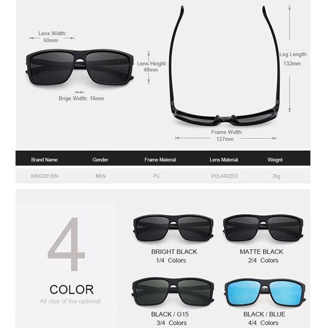 Comparar Kingseven original Gafas de sol mujer hombres marca de ...