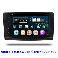 2 Din Android 6.0 CAR Radio DVD GPS player FOR Mercedes Benz ML W164  GL X164 ML300 ML350 ML450 ML500  GL350 GL450 GL500 GL550