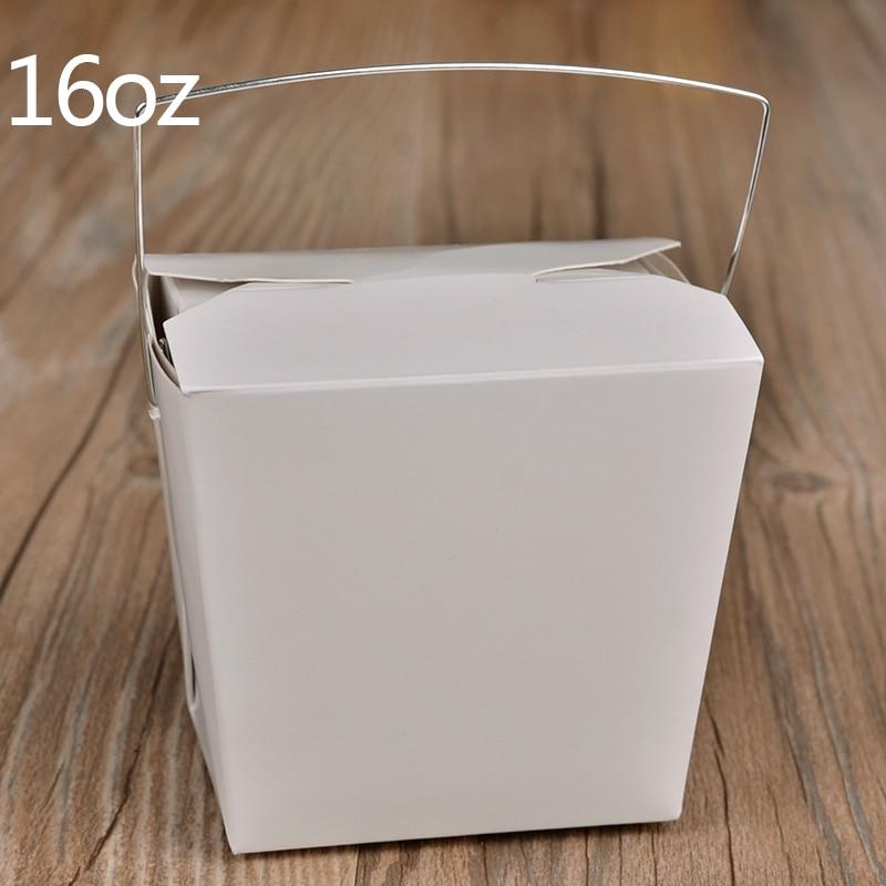 Desechable caja de almuerzo de papel Kraft con mango creativo para - Para fiestas y celebraciones - foto 6