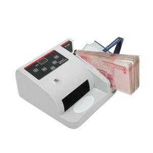 Image 3 - Mini Money Detector with UV MG WM Bill Counter for Most Currency Note Bill Cash Counting Machine EU V10 Financial Equipment