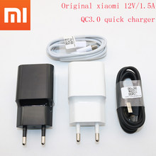 Original EU xiaomi mi 8 fast charger mi8 QC 3.0 quick charge Power adapter For mi 8 6 mix 2 2s max 2 3 a1 6x a2 Mobile phone(China)