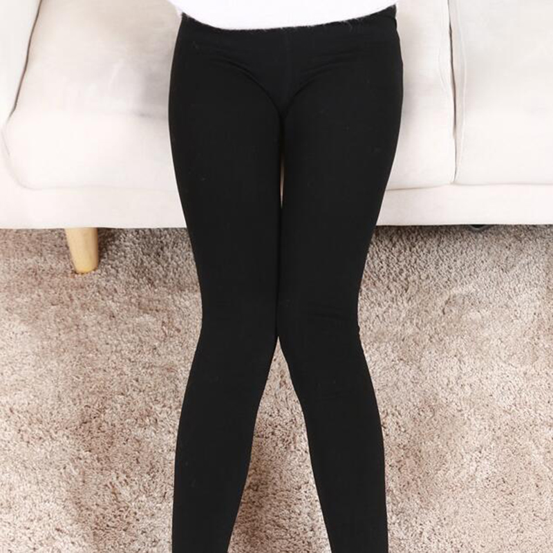 New Arrivals Soft Solid Woman Leggings Casual Winter Warm Pants Stretched Good Quality Elastic Thick Trousers Female One Size