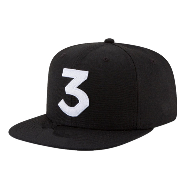 04a52d406 US $4.96 17% OFF|2017 hot chance the rapper 3 embroidery dad cap cotton Hat  For Women Men Adjustable Baseball Cap Sun Gorras Snapback Sun Hats-in ...