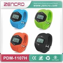 Bluetooth four.zero Sensible Pedometer Wristband Coronary heart Charge Sensor Watch