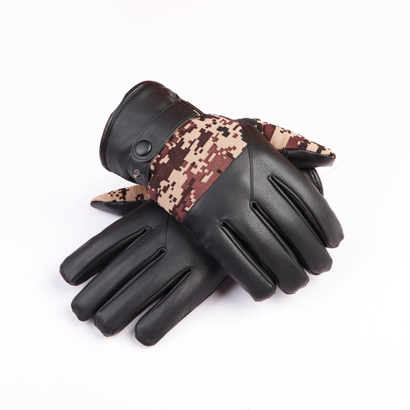 1Pair Military Camouflage Full Finger Glove Anti Slip Breathable Gloves Men Mountaineering Motorcycle Racing Bike Cycling Gloves