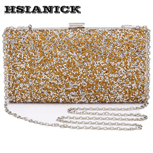 2017 woman luxury diamonds dinner package Europe and United States drill banquet handbag prom dinner clutch wedding evening bag
