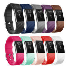 Bilek kayışı Fitbit şarj 2 Band için akıllı saat aksesuarı Fitbit şarj 2 akıllı bileklik kayışı yedek bantlar