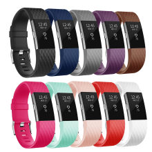 Wrist Strap for Fitbit Charge 2 Band Smart Watch Accessorie For Fitbit Charge 2 Smart Wristband Strap Replacement Bands(China)