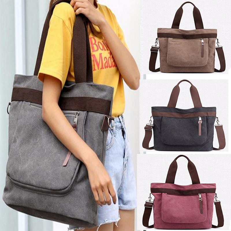 Woman Crossbody Bag Mochilas Mujer Hobos Canvas Handbags Bolsas Feminina School Shoulder Bags Bucket Travel Totes B180167