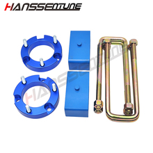 HANSSENTUNE 4WD 32mm Front Rear Suspension Lift Up Kit For Hilux Vigo SR5 SR6 05