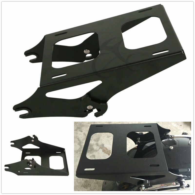 Honesty Motorcycle Detachable Two Up Tour Pak Pack Mounting Luggage Rack Trunk Rack For Harley Road King Street Glide Touring Fl 14-18 Motorcycle Accessories & Parts Side Mirrors & Accessories