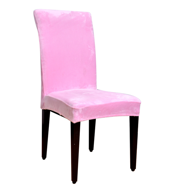 Aliexpress.com : Buy Winter Velvet Fashion Design chair covers ...