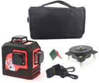 Fukuda Red Lines MW 93T 3D 12Lines Laser Level Self Leveling 360 Horizontal Vertical Cross Super