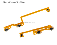 ChengChengDianWan Left Right Shoulder Button with Flex Cable For New 3DS Repair L/R Switch for new 3dsxl 3dsll Video Game