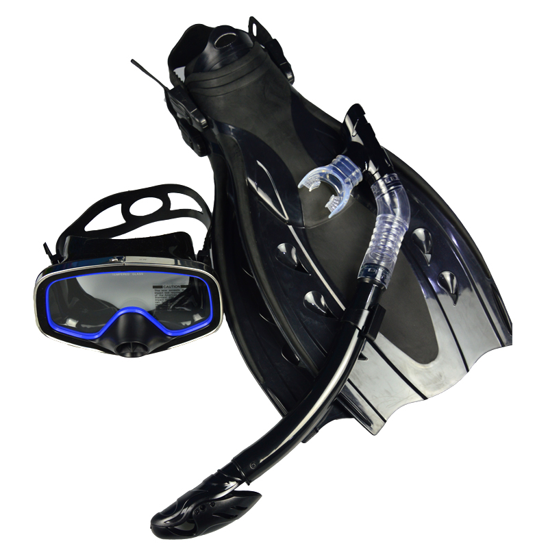 Scuba diving equipment mask fins full dry snorkel set - Discount dive gear ...