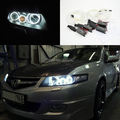 Para honda accord cl7 2002 2003 2004 2005 2006 2007 excelente ultrabright angel eyes ccfl angel eyes kit de iluminación