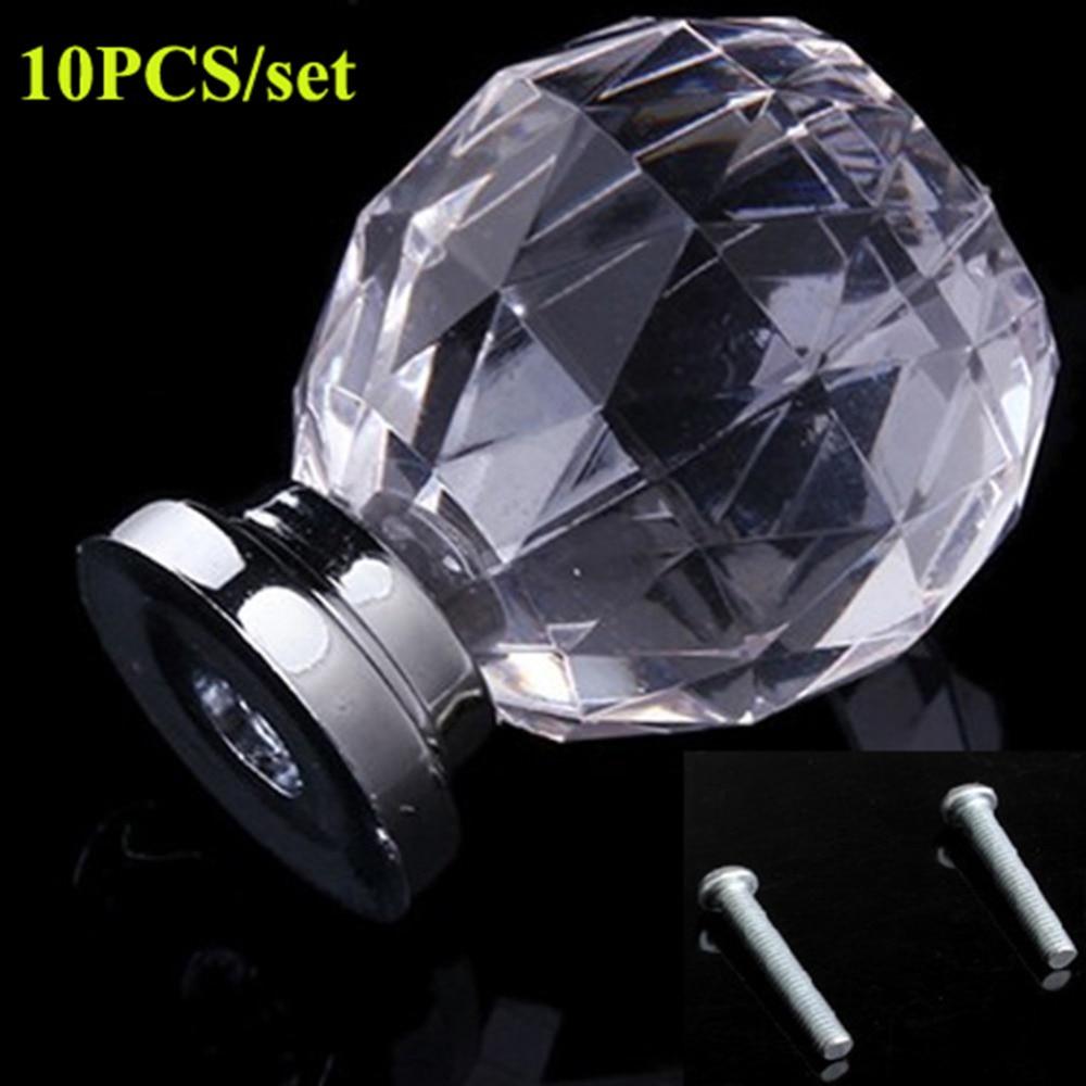Pcs set diam mm round crystal glass ball design