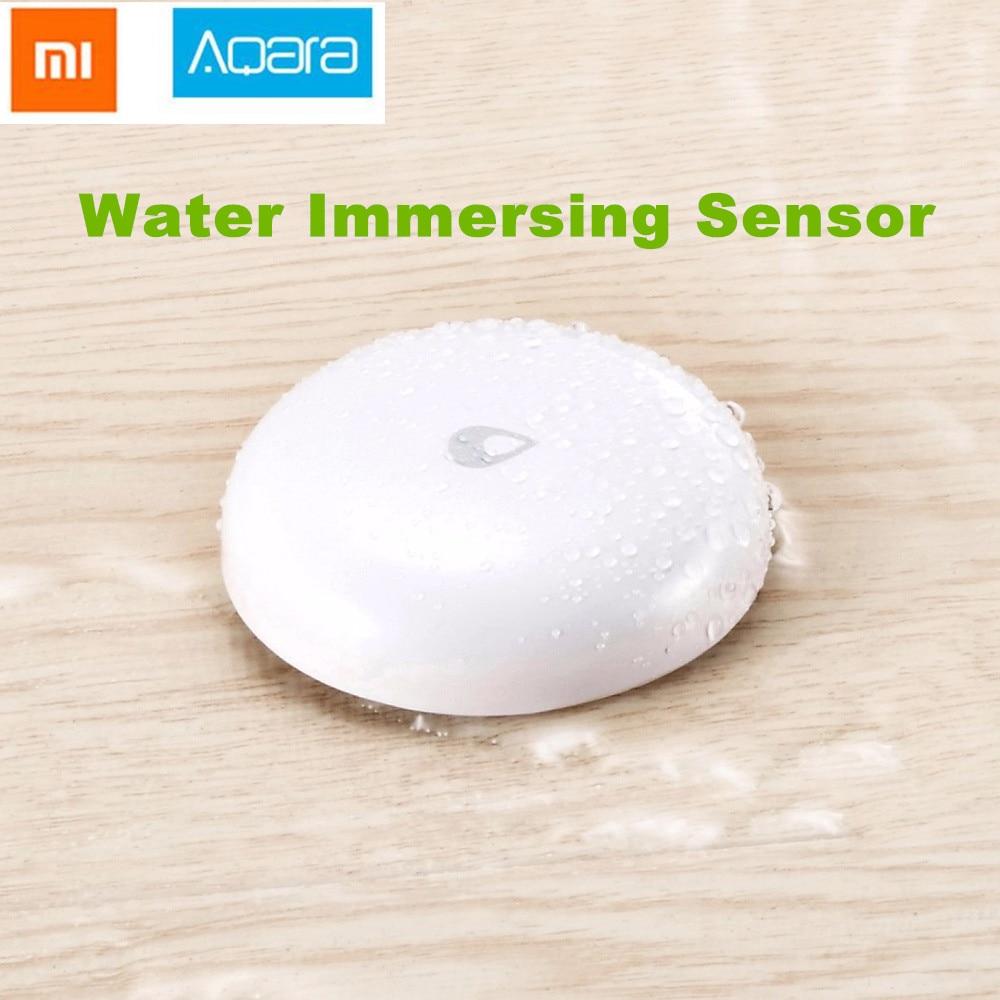 все цены на 2018 Xiaomi Mijia Aqara Water Immersing Sensor Flood Water Leak Detector for Home Remote Alarm Security Soaking Sensor