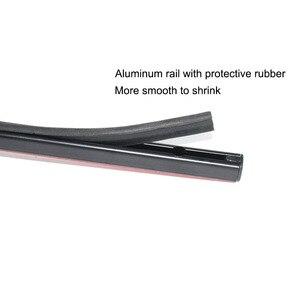 Image 3 - 50cm 60cm 70cm Aluminum Plastic rails for Car Window Curtians  (No curtains)