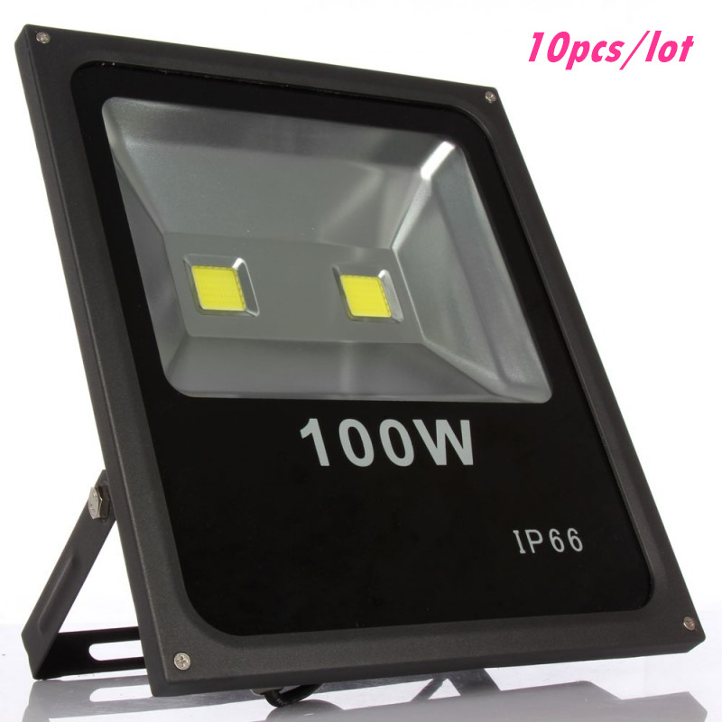 DHL Warranty 100W Led Floodlights Waterproof IP65 LED Outdoor lighting Garden Landscape Flood Lights Warm/Cold White AC 85-265V 50w ip65 waterproof floodlights white warm white led outdoor light projector lamp garden lighting